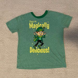 Lucky Charms T-Shirt, throwback, retro, Size XS